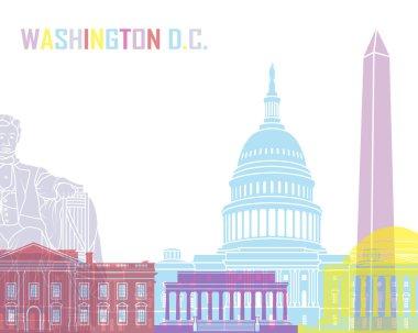 Washington DC skyline pop