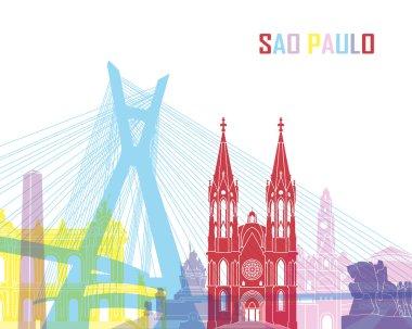 Sao Paulo skyline pop