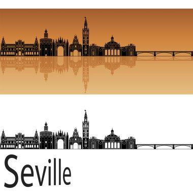 Seville V2  skyline in orange