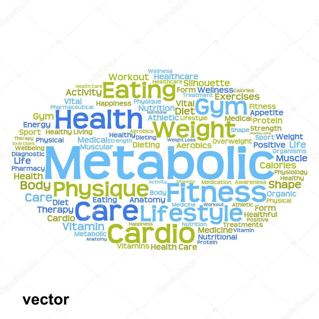 Nube de word de salud Resumen — Archivo Imágenes Vectoriales ...