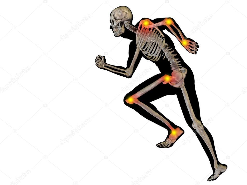 menschliche Gelenke Schmerzen — Stockfoto © design36 #123080338