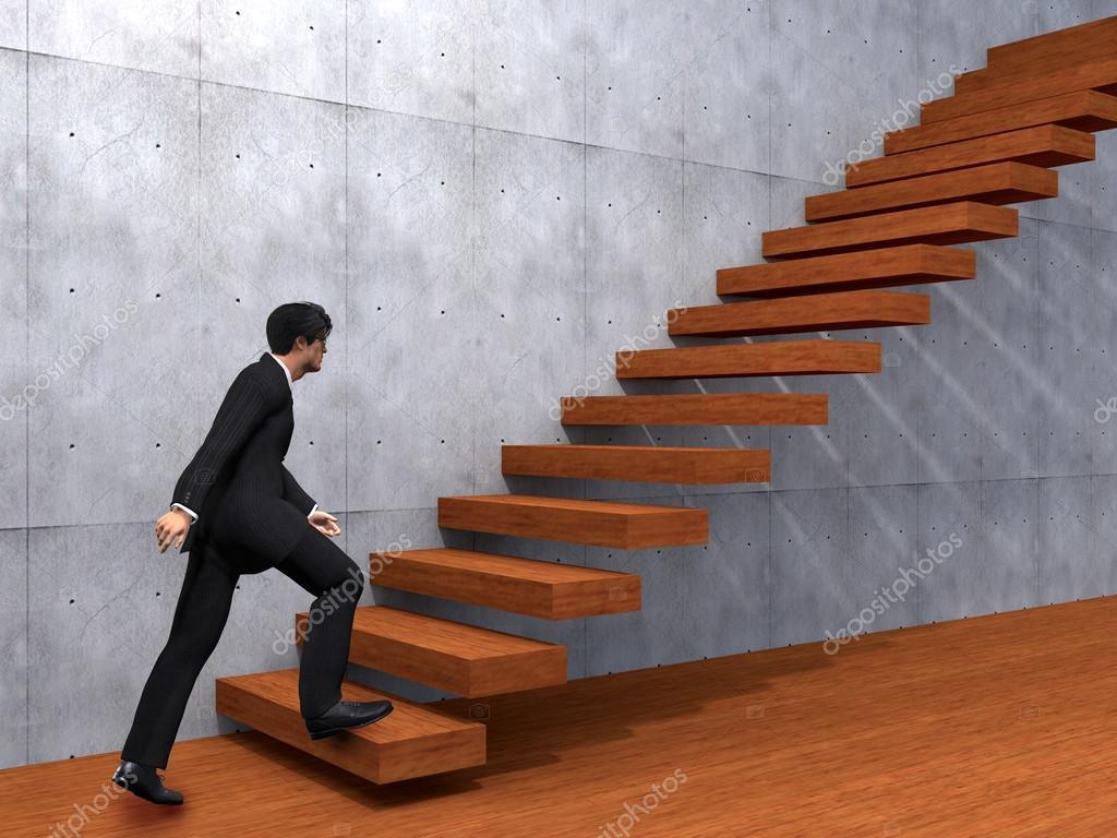 businessman climbing steps stock photo design36 67984463