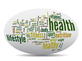 health word cloud