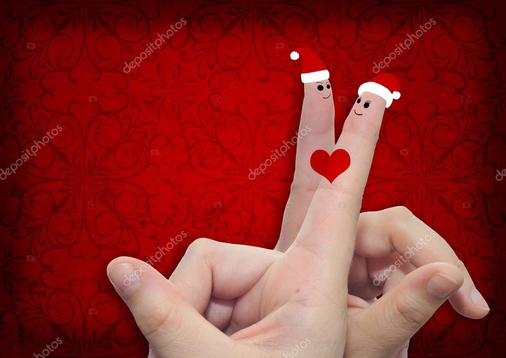 Imágenes Dedo De Amor Dedos De Hombre Y Mujer En El Amor Foto