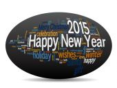 ellipse Happy New Year 2015