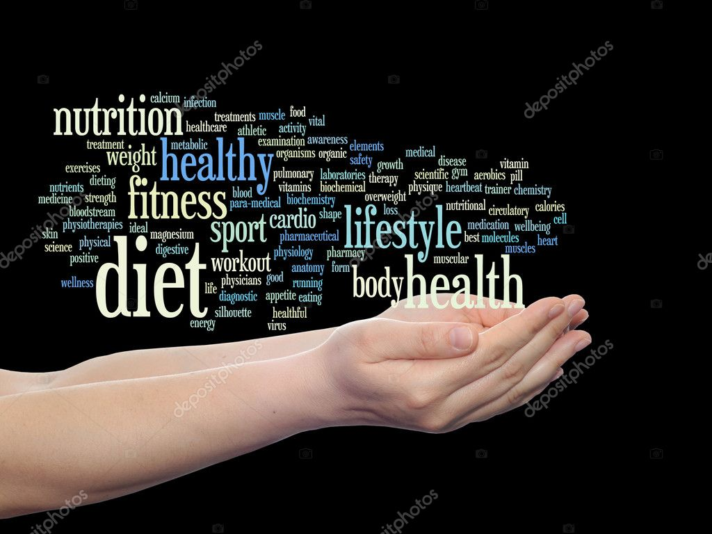 nutrition or diet words cloud stock photo design36 85994688