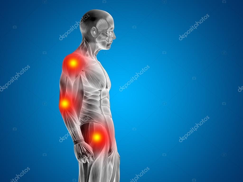 3d mann menschlich Anatomie oberen Körpers oder der Gesundheit ...