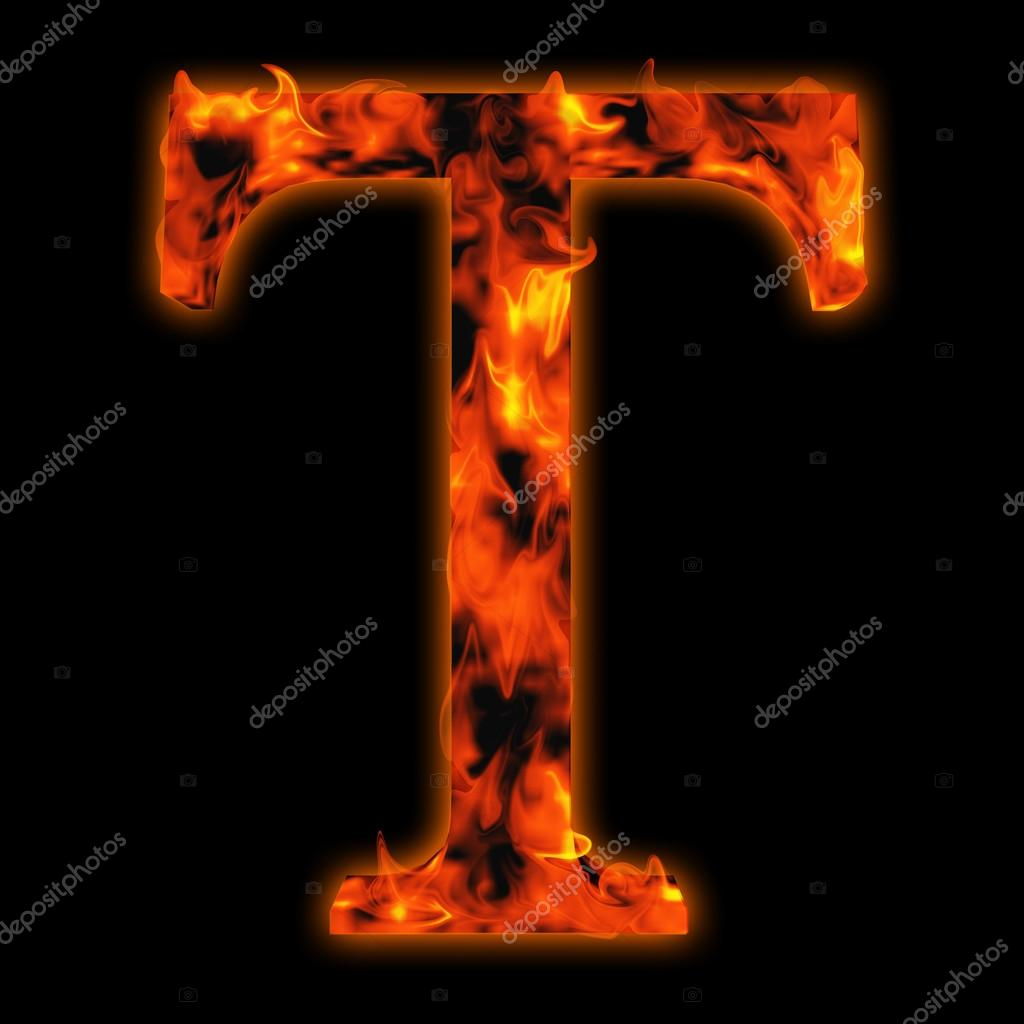 Conceptual red hot burning fire font stock photo design36 95393118 concept conceptual red hot burning fire font in red and orange flames letter t isolated on black background photo by design36 altavistaventures Choice Image