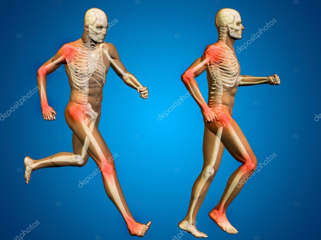 Man Skeleton Pain Stock Photo Design36 98879058