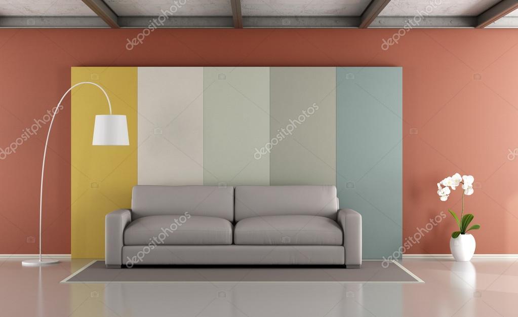 Salon moderne coloré — Photographie archideaphoto © #107289974