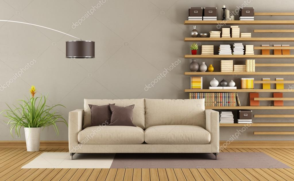 contemporary living room — stock photo © archideaphoto #66071581