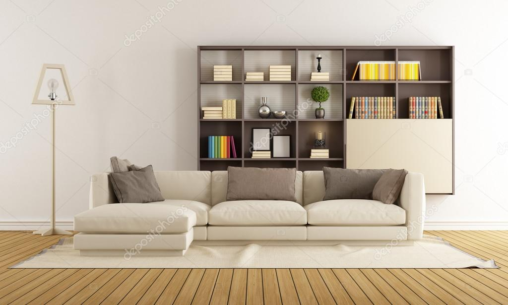 contemporary living room — stock photo © archideaphoto #69390117