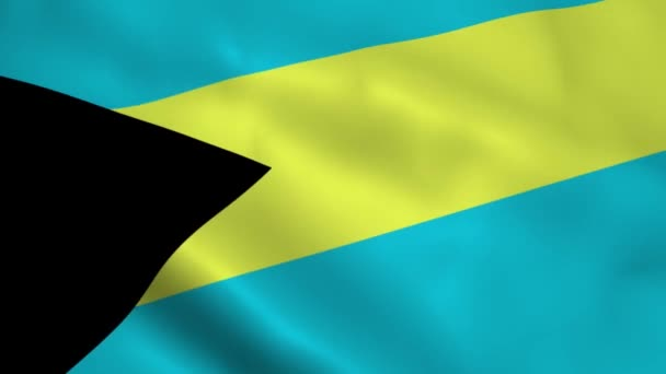 Realistické Bahamy vlajka
