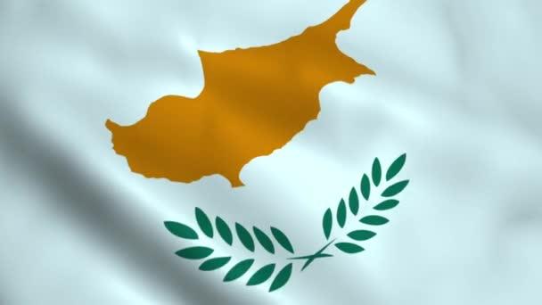 Realistic Cyprus flag