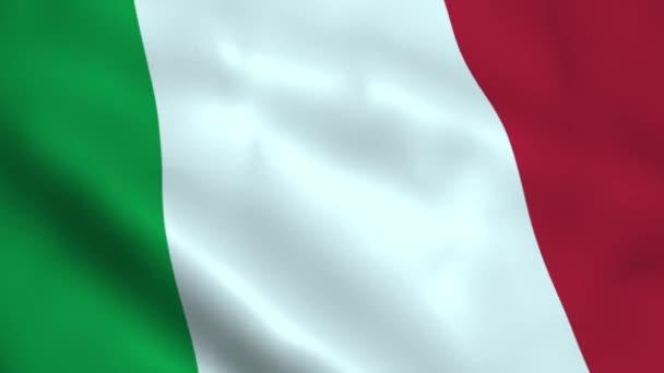 Realistické vlajka Itálie