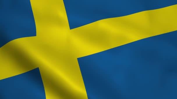 Realistiska Svenska Flaggan