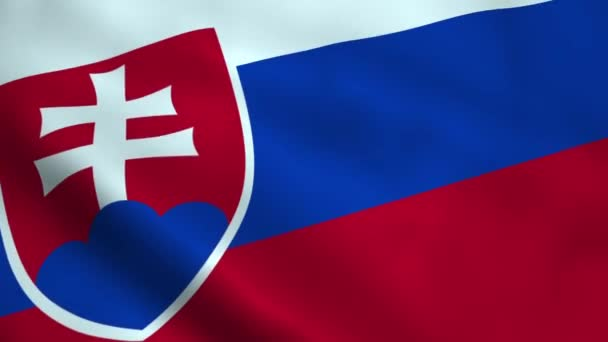 Realistické Slovensko vlajka