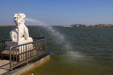 lion marble sculpture fountain