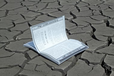 A book in the dry land