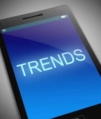 Trends concept.