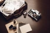 staré fotografie a fotografie zařízení