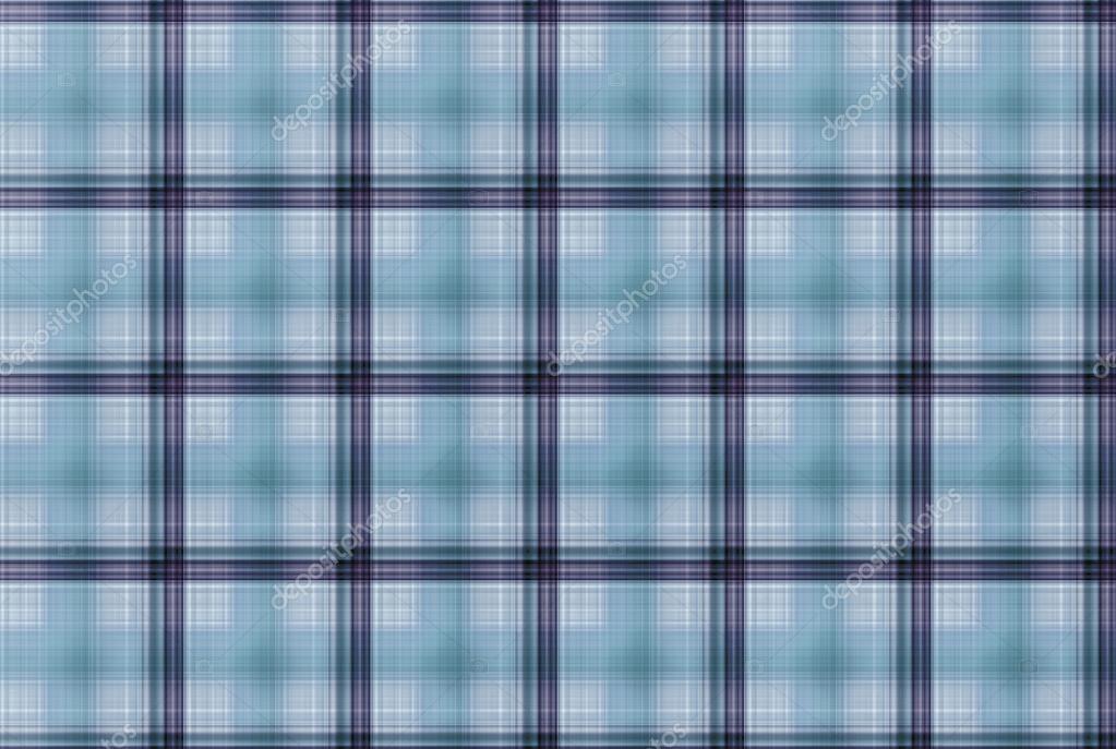 Tartan Blau Muster Karierte Kleidung Tabelle Stockfoto Dekhard
