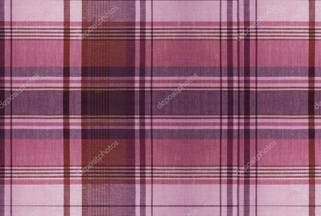 Rote Tartan Muster Karierte Kleidung Tabelle Stockfoto Dekhard