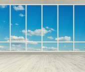 kancelář s velkými okny