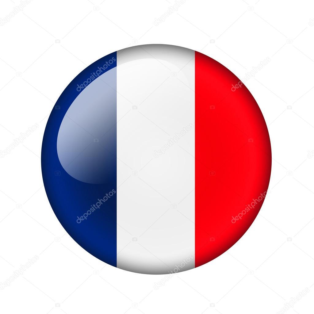 Drapeau Rond le drapeau français — photographie tpabma2 © #98833206