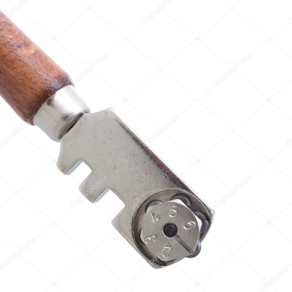 Delightful Brandneue Glasschneider, Messerwerkzeug Verwendet Von Glaser Isoliert Auf  Weißem Hintergrund U2014 Foto Von Lipowski