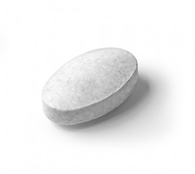 Pill isolated