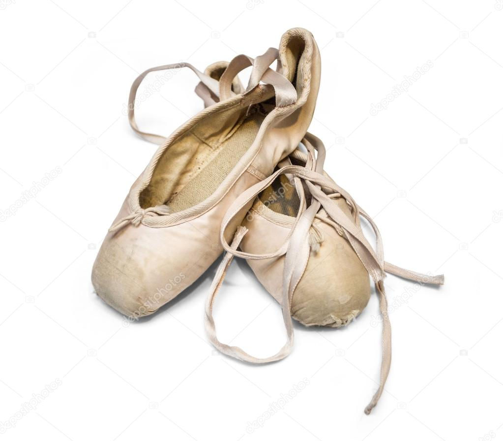 093acc905e7 Old used ballet shoes — Stock Photo © kornienkoalex #83906248