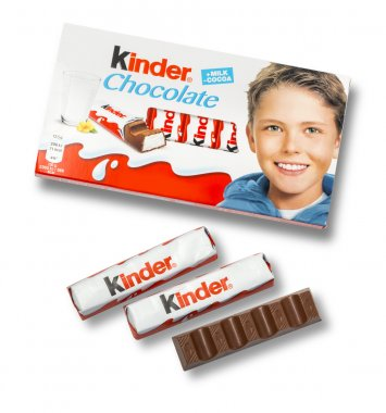 Kinder chocolate bars