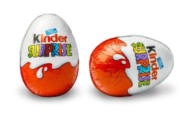 Kinder Surprise, a chocolate egg