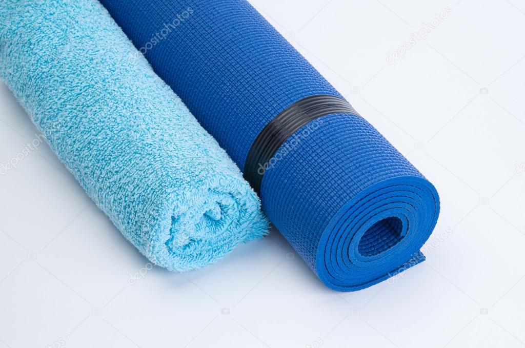 mat gift canada amazon dp gymnastics fitness exercise blue christmas pu folding mats gym giantex tumbling panel