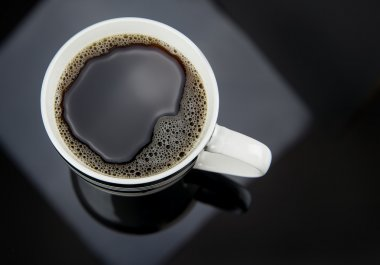 Pouring Cup of Fresh Coffee