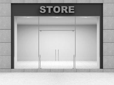 Modern Empty Store