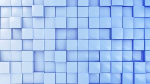 Seamless Looping Abstract Cubes Background