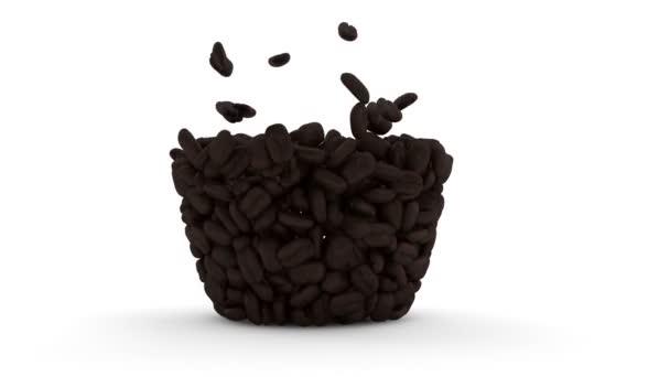 kávé csésze kávé bab