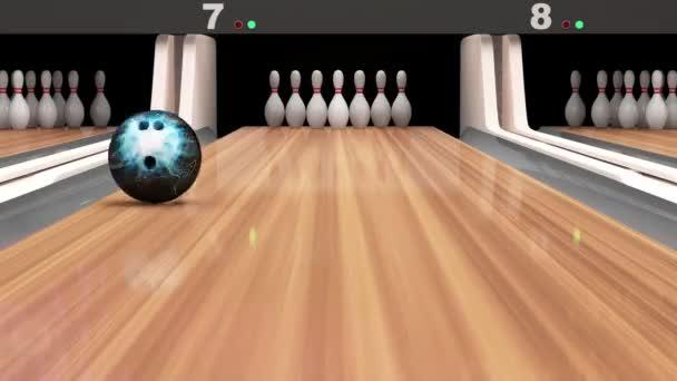 Animovaná ukázka Bowling
