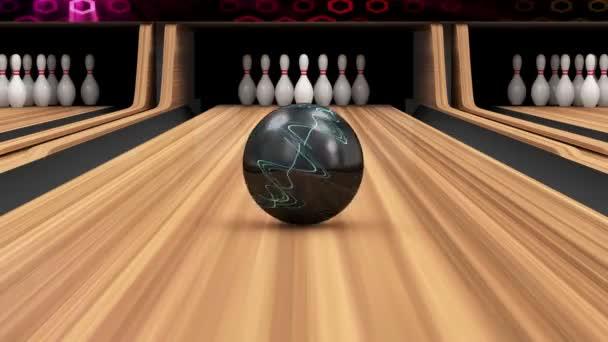 Animace bowling Strike