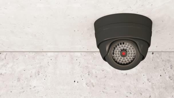 Moderní bezpečnostní kamery rotace