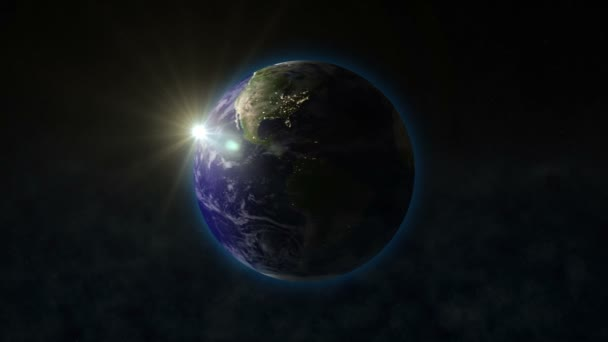 Rotace země se sluncem