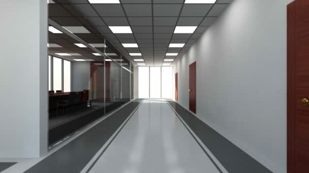 Moderní prázdnou kancelář