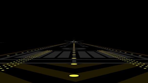 Letadlo startuje z dráhy letiště