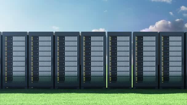 moderne Serverschränke