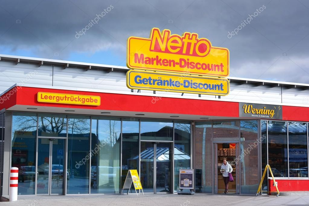 Netto Marken-Discount supermarket – Stock Editorial Photo ...