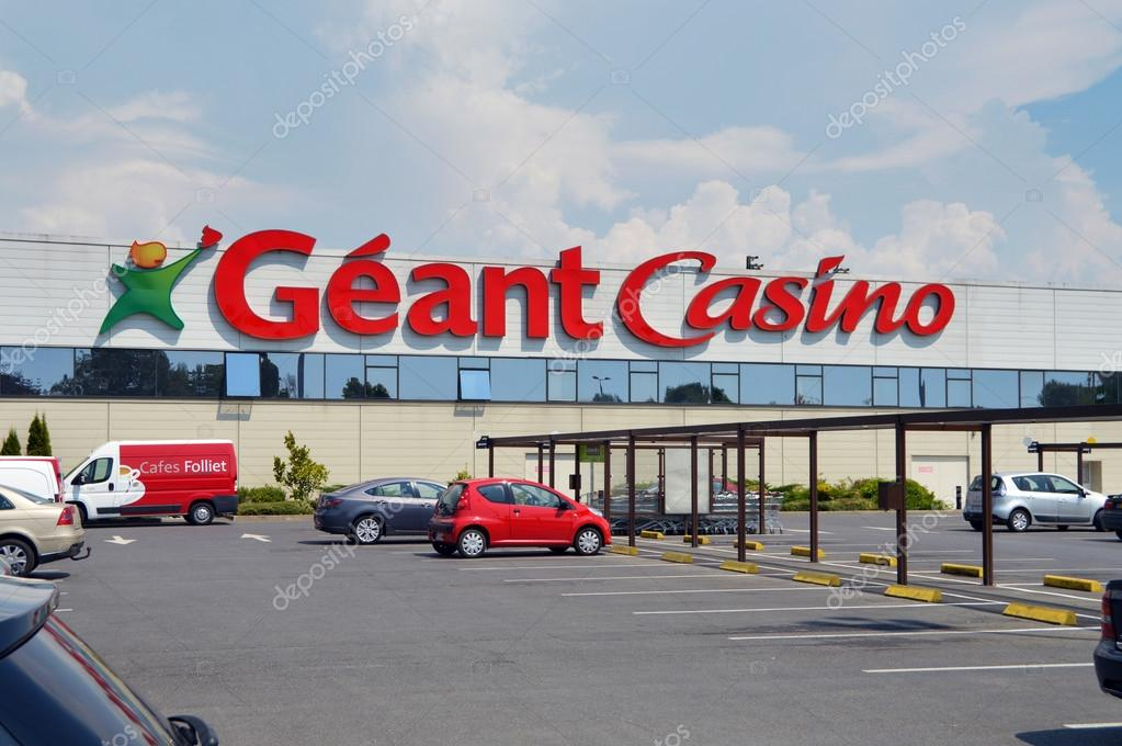 geant casino hypermarket stock editorial photo. Black Bedroom Furniture Sets. Home Design Ideas