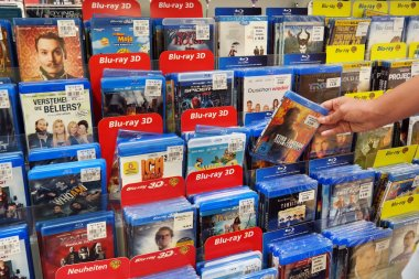 Blu-ray Discs and DVDs