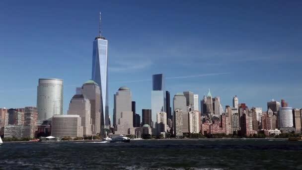 New York, Usa - Freedom Tower v dolním Manhattanu